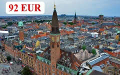 Charter flights from Varna to Copenhagen and from Burgas to Copenhagen 2018